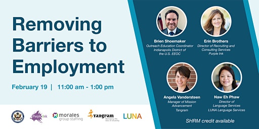 Removing Barriers to Employment