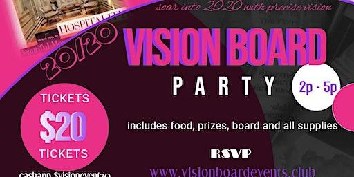 Soar into 2020 Vision Board Party
