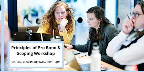 Principles of Pro Bono & Scoping Workshop tickets