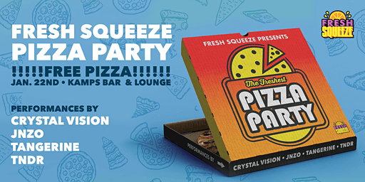 Fresh Squeeze Pizza Party