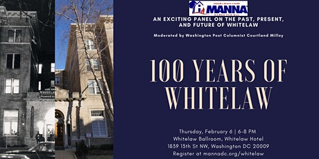 100 Years of the Whitelaw tickets