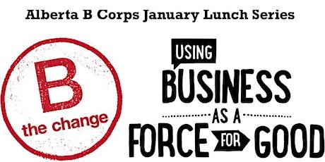 Alberta B Corps New Year Lunch (Edmonton) tickets