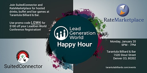 RateMarketplace + SuCo LGW Happy Hour