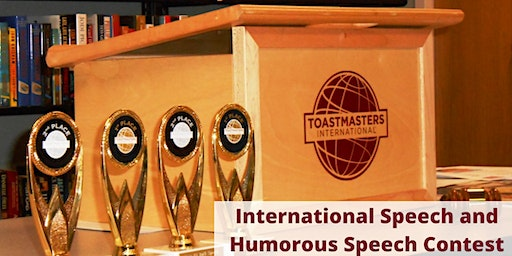 Combined Area 81, 83 & 84 International Speech and Humorous Speech Contest