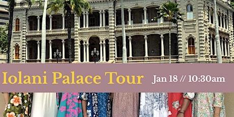 Iolani Palace Tour in Your Finest Mu'umu'u! tickets