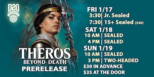 3pm Sun THG Theros Beyond Death Prerelease