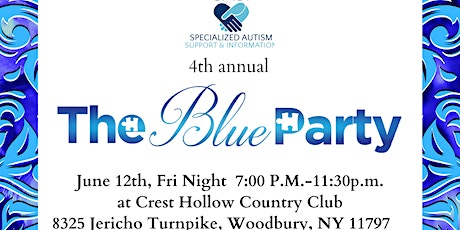 SASI's 4th annual BLUE PARTY GALA LI tickets