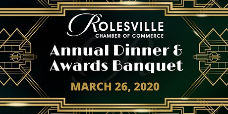 Rolesville Chamber of Commerce Annual Dinner & Awards Banquet tickets