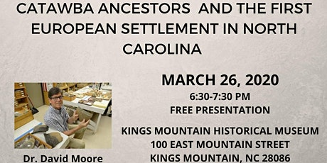 Catawba Ancestors and the First European Settlement in NC biglietti