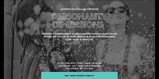 Personality Dimensions Workshop