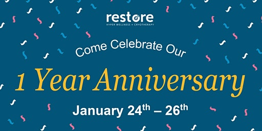 Happy Birthday Restore Sonterra