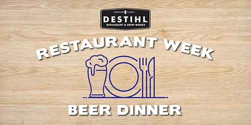 Restaurant Week Beer Dinner