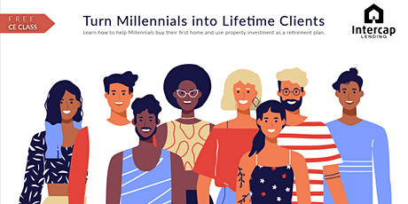Turn Millennials Lifetime Clients - CE 2 Credits tickets