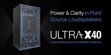 Please join us for 2020's exclusive ULTRA-X40 Demo in Dubai tickets