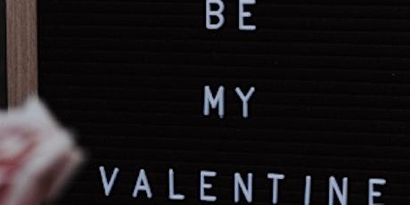 Valentine's Crafting tickets