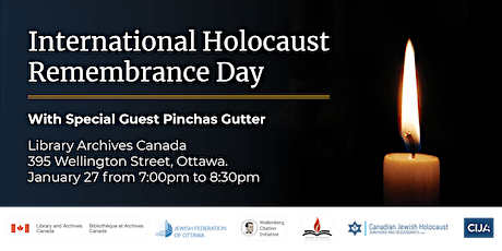 International Holocaust Remembrance Day tickets