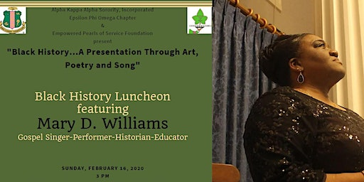 """Black History... A Presentation Through Art, Poetry, and Song"""