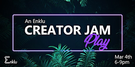 Enklu's Creator Jam - Play with AR Scenes Together tickets