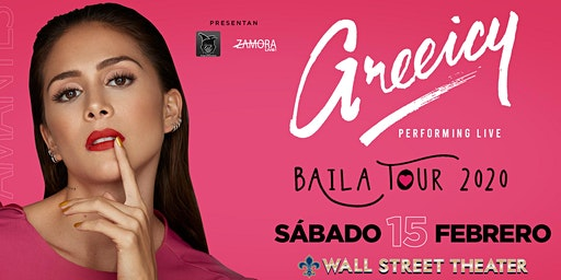 Greeicy Live at Wall Street Theater CT! | Baila Tour 2020