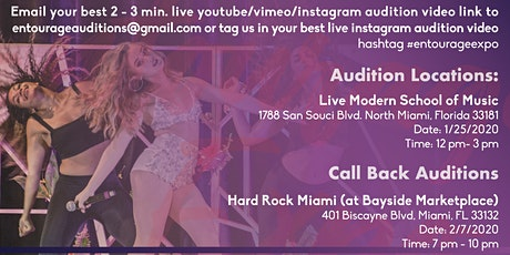 Entourage Expo Call Back Audition Finals (Season 5) tickets