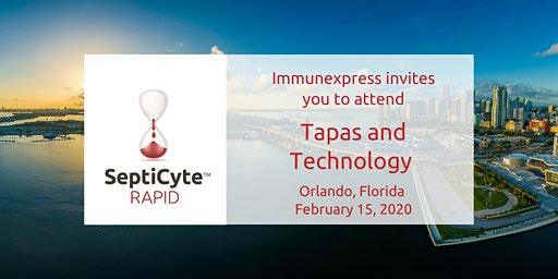 Tapas & Technology with a Live Demo of SeptiCyte™ RAPID Test