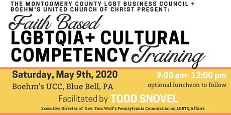 Interfaith LGBTQIA+ Cultural Competency Training tickets