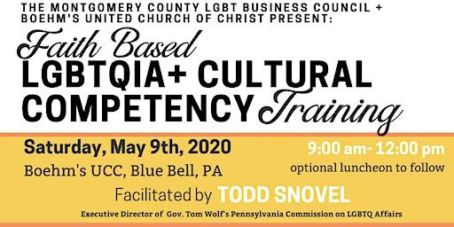 Interfaith LGBTQIA+ Cultural Competency Training