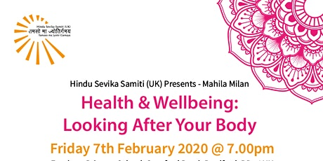 Health & Wellbeing:  Looking After Your Body tickets
