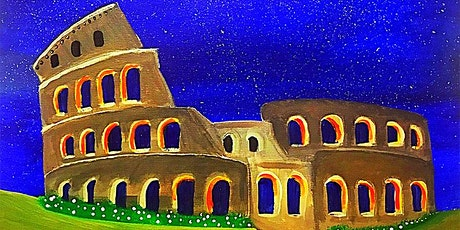 Paint & Sip - Colosseum tickets