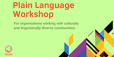 Plain Language Workshop | For Organisations Working with CALD Communities tickets