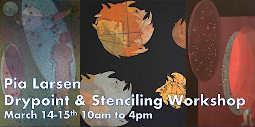 Drypoint and Stenciling Workshop