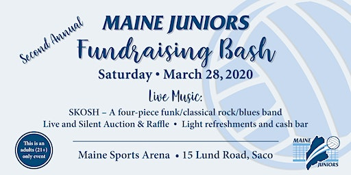 Maine Juniors Second Annual FUNdraising Bash