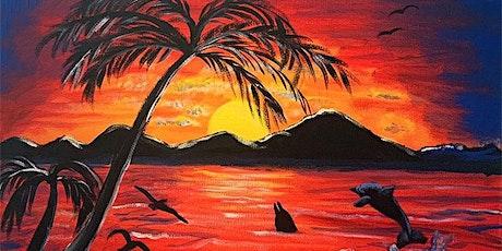 Paint & Sip - Hawaiian Sunset tickets