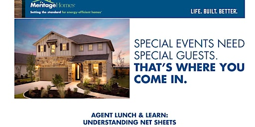 Meritage Homes Agent Lunch & Learn