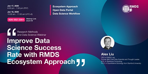 Improve Data Science Success Rate with RMDS Ecosystem Approach