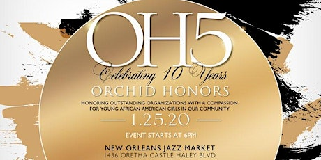 Fifth Annual Orchid Honors  tickets