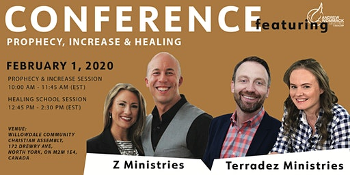 Prophecy, Increase & Healing Conference