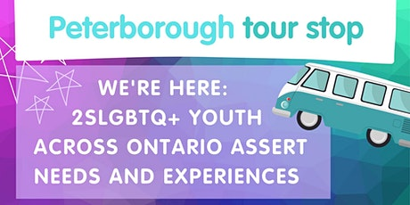 We're Here: Peterborough Launch #PYAPtour tickets