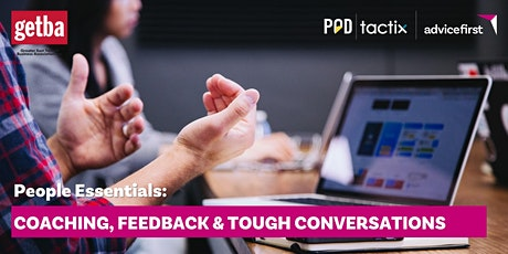 People Essentials: Coaching, feedback & tough conversations tickets