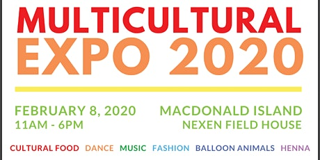 Multicultural EXPO 2020 tickets