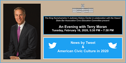 Terry Moran: News by Tweet and American Civic Culture in 2020