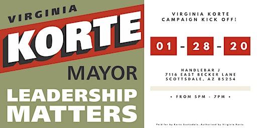 Virginia Korte Campaign Kick Off!