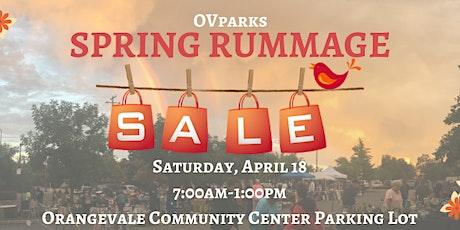 Spring Rummage Sale tickets