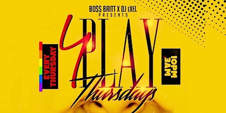 4Play Thursdays: #1 All Girl Party in ATL tickets