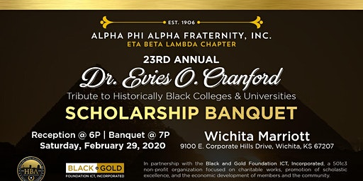 23rd Annual Dr. Evies O. Cranford Tribute to HBCU's Scholarship Banquet