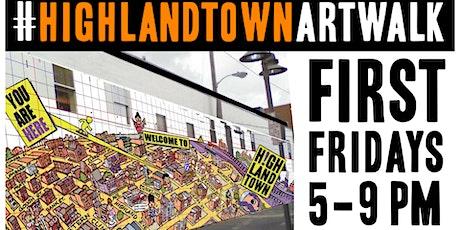 Highlandtown Virtual First Friday Art Walk tickets