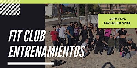 Fit Club - Entrenamientos Gratuitos entradas