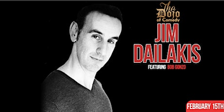 Bob Gonzo Presents Comedy Night with Jim Dailakis tickets