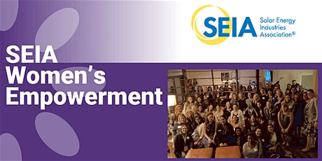 SEIA's Women in Solar and Finance Reception tickets