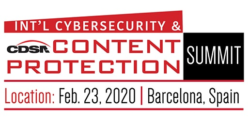 International Cybersecurity & Content Protection Summit 2020